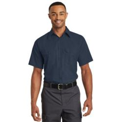 Red Kap SY60 Short Sleeve Solid Ripstop Shirt Thumbnail