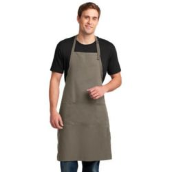 Port Authorit A700 Easy Care Extra Long Bib Apron with Stain Release Thumbnail