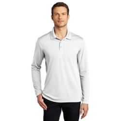 ® Dry Zone ® UV Micro Mesh Long Sleeve Polo Thumbnail