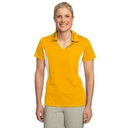 Ladies Side Blocked Micropique Sport Wick ® Polo Thumbnail
