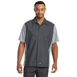 Red Kap SY20 Short Sleeve Ripstop Crew Shirt Thumbnail