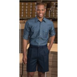 Edwards Pleated Chino Short - 2410 Thumbnail