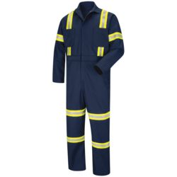 Red Kap CT10EN Enhanced Visibility Action Back Coverall Thumbnail