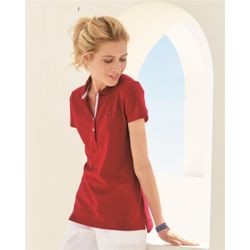 Tommy Hilfiger 13H4534 Women's Pique Polo Shirt Thumbnail